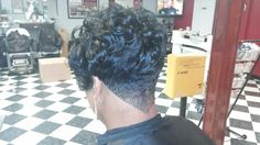 Neck Taper By Ken Ware Ultimate Hairstyles Barbershop & Salon Chattanooga TN USA