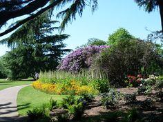 The Flower Garden in Greenwich Park.