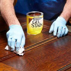 Renew Woodwork Without Refinishing - 20 Wood Finishing Tips: http://www.familyhandyman.com/woodworking/staining-wood/wood-finishing-tips