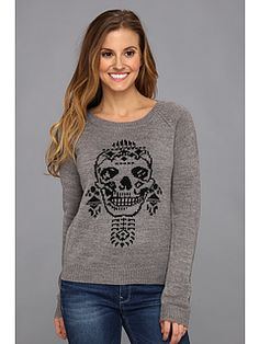 Sugar skull pullover from Obey. #fashion #favorites #zappos