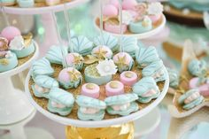 Sweets from a Mermaid Oasis Themed Birthday Party via Kara's Party Ideas | KarasPartyIdeas.com (19)