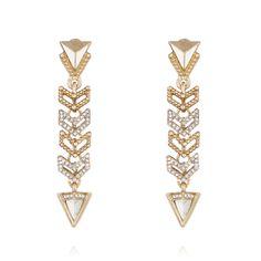 Portico Linear Drop Earrings https://www.chloeandisabel.com/boutique/lisahaas #lisasciboutique