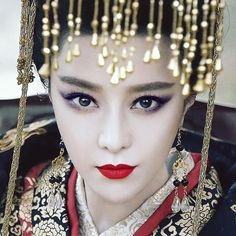 The Empress of China 《少女武则天》 - Fan Bingbing, Zhang Fengyi, Zhang Ting - Page 8 Fan Bingbing, Chinese Makeup, Asian Makeup, The Empress Of China, Face Images, Pretty Asian, Chinese Clothing, Oriental Fashion, Chinese Actress
