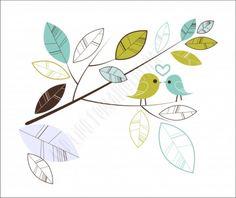 Falevél Falmatrica - grafikashop - egyedi falmatrica, faltetoválás, faldekoráció