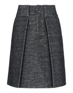 A+ for A-Lines! – Alexander Wang Gray Velvet Skirt at #ShopBAZAAR