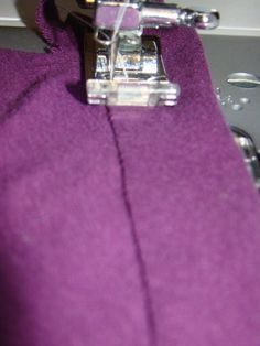 How to Hem Knit on a sewing machine Tutorial