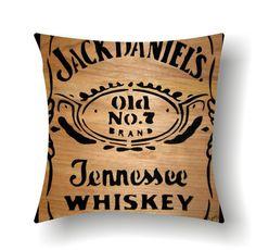 Beautiful jack daniel's pillow