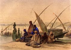 Preziosi, Amadeo (1816-1882) - 1862 On the Banks of the Ni…   Flickr