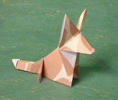 origami Fox/Origami Welsh Corgi