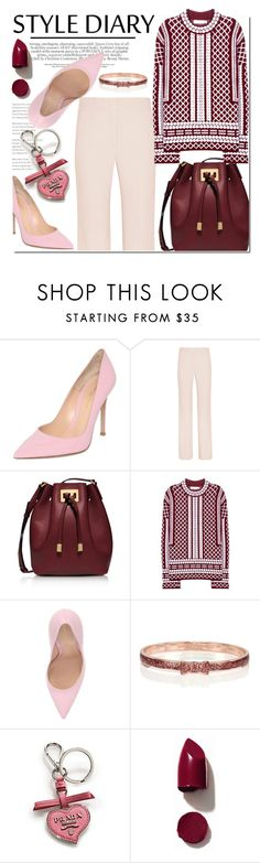 """Untitled #1017"" by samha ❤ liked on Polyvore featuring moda, Gianvito Rossi, Joseph, Michael Kors, Tory Burch, Kate Spade, Prada, NARS Cosmetics, women's clothing y women"