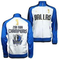 Dallas Mavericks 2011 Champion Track Jacket. i really want this
