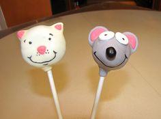 Toopy and Binoo cake pops www.bakemob.com