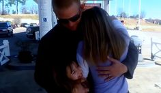 """[VIDEO] Sisters In Tears When Soldier Dad, Home From Deployment, Surprises Them  