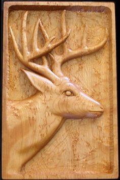 low relief / bas-relief in wood