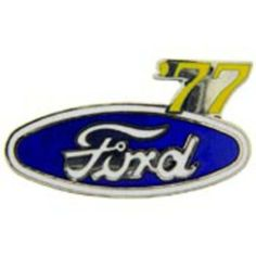 """Ford '77 Logo Pin 1"""" by FindingKing. $8.99. This is a new Ford '77 Logo Pin 1"""""""