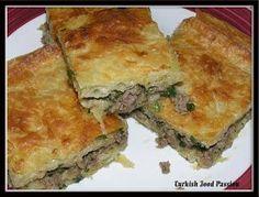 Turkish Food Passion: Borek with Ground Beef (Kıymalı Börek)