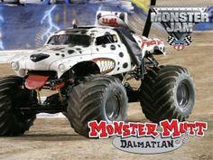 monster mutt monster truck/ Jeremy's favorite