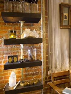 Urban Spaces: Creative Couple's Shotgun-Style NYC Apartment | Interior Design Styles and Color Schemes for Home Decorating | HGTV