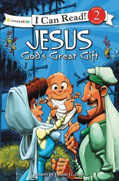 Dennis Jones Series: Jesus, God's Great Gift (Zonderkidz)