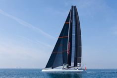 First Sail with the AC72 Wing, Artemis Racing, AC