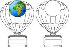 Thèmes d'école: Etiquettes porte-manteaux sur le thème du voyage autour du monde