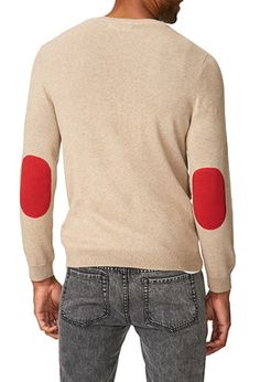 Elbow Patch Sweater   FOREVER 21