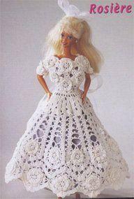 I Modelli Per Vestiti Di Barbie Da Realizzare Alluncinetto 717