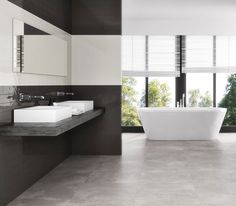 Bronte ceramic tiles look great in both traditiona and modern bathrooms
