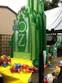 how to make emerald city wizard of oz props - Google Search