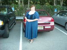 Me in my Haley (?) dress at my Nephew's wedding in 2011.