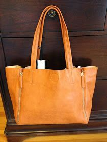 Emperia Tanner Zipper Detail Tote - I adore this darling Stitch Fix bag! Would love to get this is it's real leather!