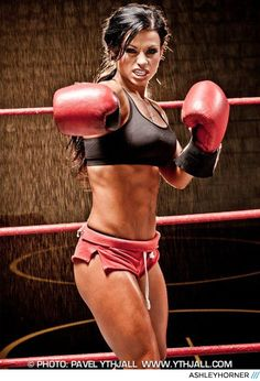 15 Female Physiques Worth Fighting For! - Ashley Horner - Bodybuilding.com