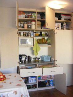 Кухня-невидимка и немножко еще