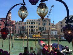Lunch break in Venice, Italy