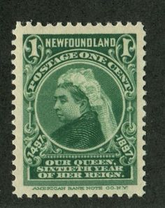 Canadian Philately - The Stamps and Postal History of Canada 1851 to Present: The John Cabot Issue of Newfoundland - 1897 Old Stamps, Vintage Stamps, Newfoundland And Labrador, Newfoundland Recipes, British Royal Family Members, Bollywood Posters, Green Queen, Postage Stamp Art, Victorian