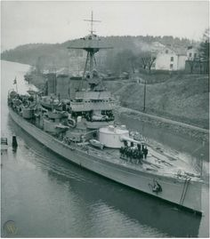 HSwMS Oscar II was a coastal defence ship or Pansarskepp of the Swedish Navy. The vessel had a long career lasting over sixty years. A development of the preceding Äran-class coastal defence ship, the ship mounted a powerful armament on a small hull, which necessitated sacrificing speed and endurance. #HSwMSOscarII #CoastalDefenceShip #OscarII