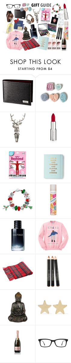 """GIFT GUIDE"" by imstacydrama ❤ liked on Polyvore featuring Jo Heckett, Asprey, Yves Saint Laurent, River Island, Kate Spade, Bling Jewelry, Batiste, Christian Dior, Urban Decay and Smashbox"