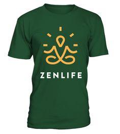 Zenlife Shirt  #yoga #idea #shirt #tzl #gift #gym #fitness