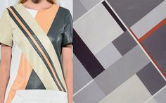 print trends runway jonathan smikhai SP14 2 Print Trends | Linear Form