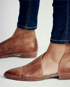 // Royale Flats in Brown by Free People
