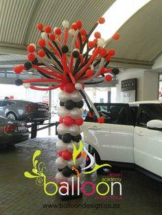 Funky Balloon Pillar