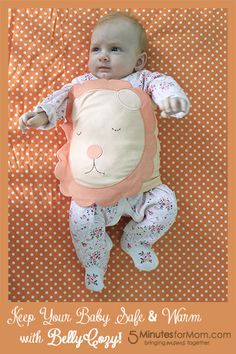 Keep Your Baby Safe and Warm with BellyCozy #Giveaway from @Susan Caron & Janice (5 Minutes For Mom)