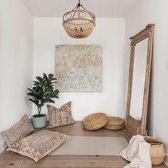 Home Yoga Room, Yoga Room Decor, Yoga Studio Home, Meditation Room Decor, Yoga Bedroom, Wall Decor, Yoga Rooms, Yoga Studio Interior, Relaxation Room
