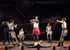 Bugsy Malone Lyric Hammersmith 2015. Directed by Sean Holmes, choreography by Drew McOnie. All photos by Manuel Harlan