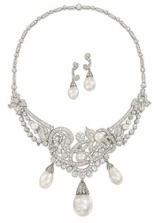Necklace and Earrings 1950s Christie's