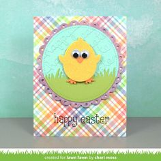 Lawn Fawn Intro: Hoppy Easter, Happy Hatchling + Easter Border | the Lawn Fawn blog | Bloglovin'