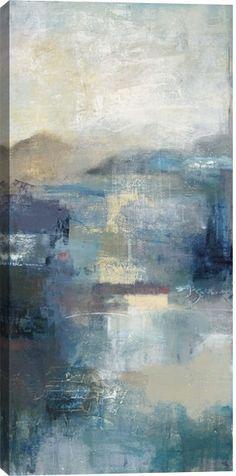 Seasonal Tones I Abstract Canvas Wall Art Print by Bailey