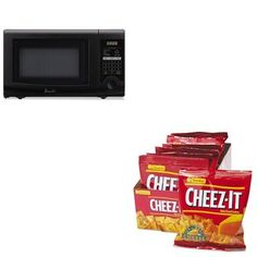 KITAVAMO7192TBKEB12233  Value Kit  Avanti 07 Cubic Foot Capacity Microwave Oven AVAMO7192TB and Kelloggs CheezIt Crackers KEB12233 ** Check this awesome product by going to the link at the image. (Amazon affiliate link)