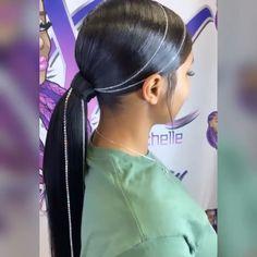 Old Hairstyles, Baby Girl Hairstyles, Beautiful Hairstyles, Hair Ponytail Styles, Weave Ponytail Hairstyles, Love Hair, Great Hair, Birthday Hair, 16th Birthday