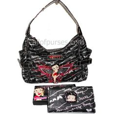 Betty Boop Black Butterfly Silver Enamel Sequins « Clothing Impulse